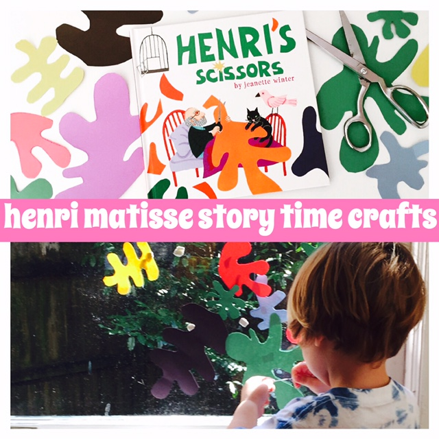 henri s scissors by jeanette winter booktomato