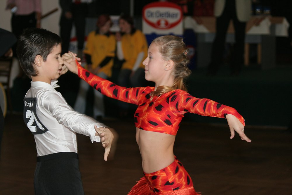 Photo: Ballroom_dance_competition_cha_cha_3 by Che licensed under CC BY-SA 2.5