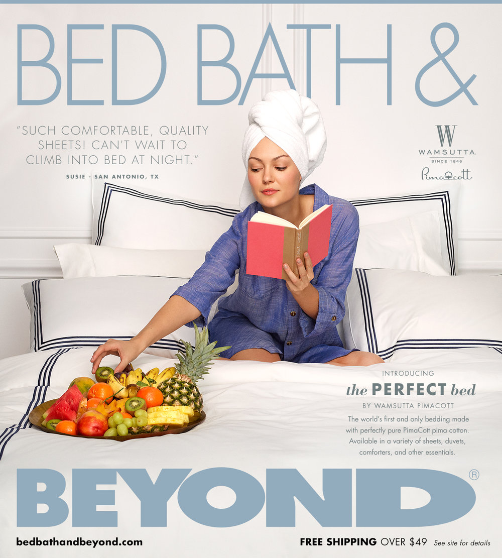 Bed Bath & Beyond famous circular catalog - Will have a series of