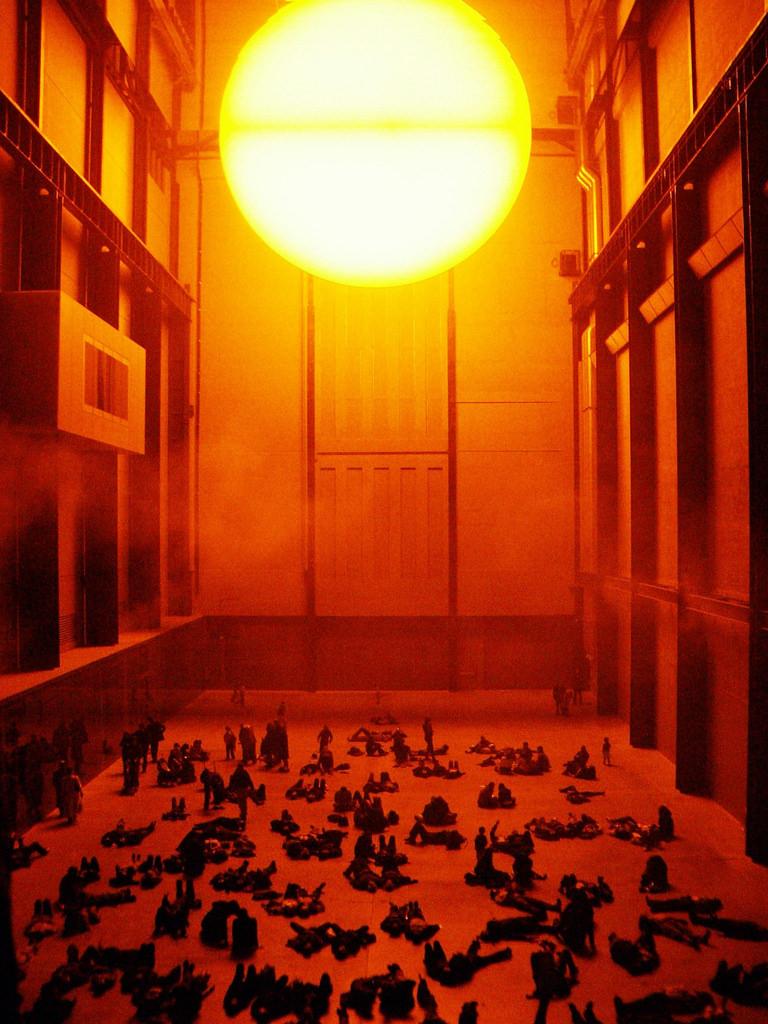 Weather Project Turbine Hall Tate Modern 2003