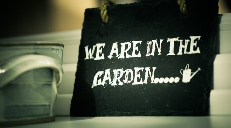 """We Are In The Garden"""