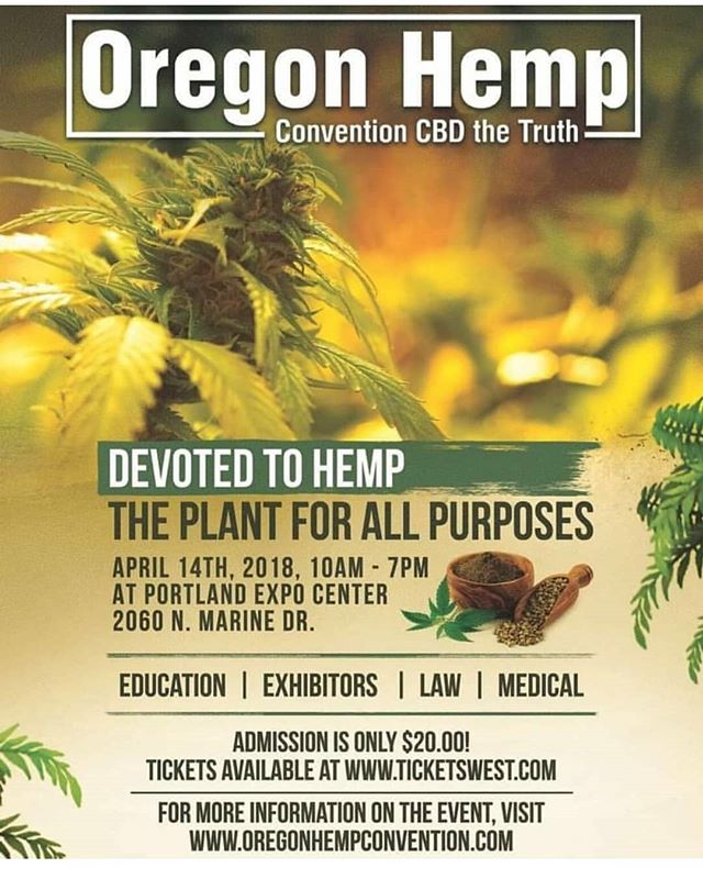 Join us this weekend in Portland for Oregon Hemp Convention. We will be with our friends Forest Floor Organic Soils @forestfloororganicsoils 🌲booth 41 . #portland #Oregon #pdx #pnw #hemp #cbd #thc #cannabiscommunity #knf #livingsoil #notillarmy #organicgardening #organicfarming #ReapWhatYouSow #GoliathGrow