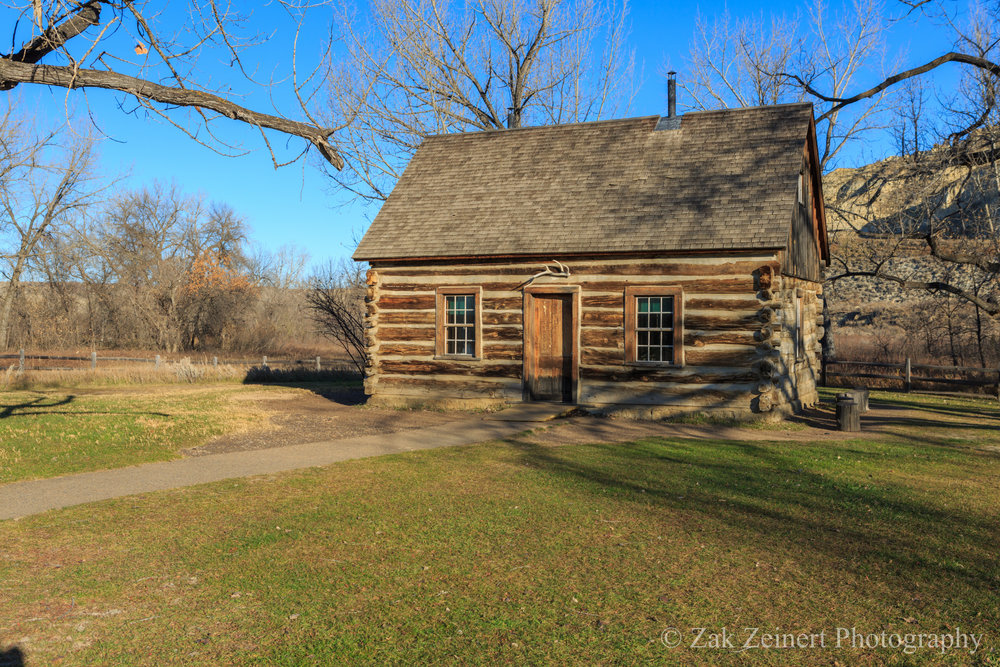 Cabin that Theodore Roosevelt lived in