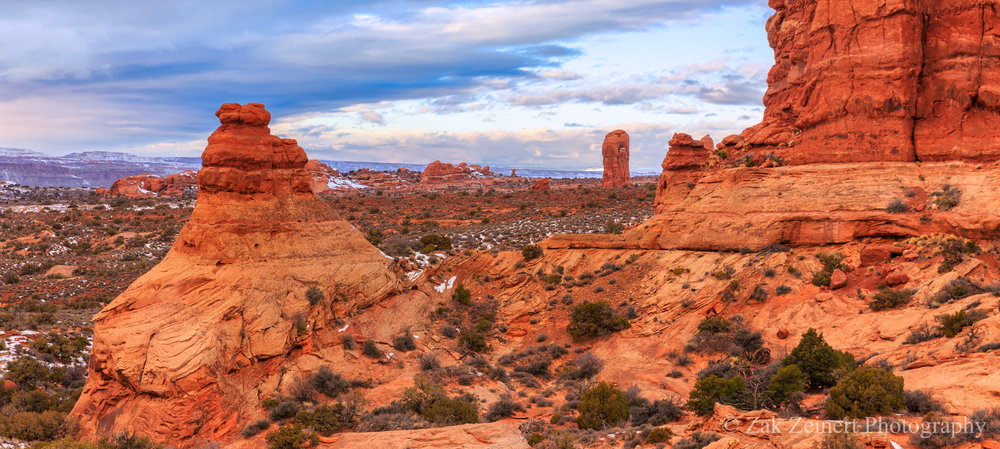 Near the Garden of Eden in Arches National Park