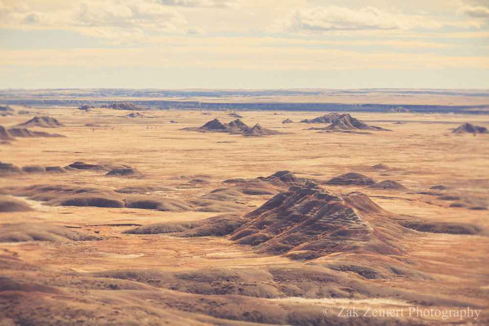 The stunning landscape of the Badlands