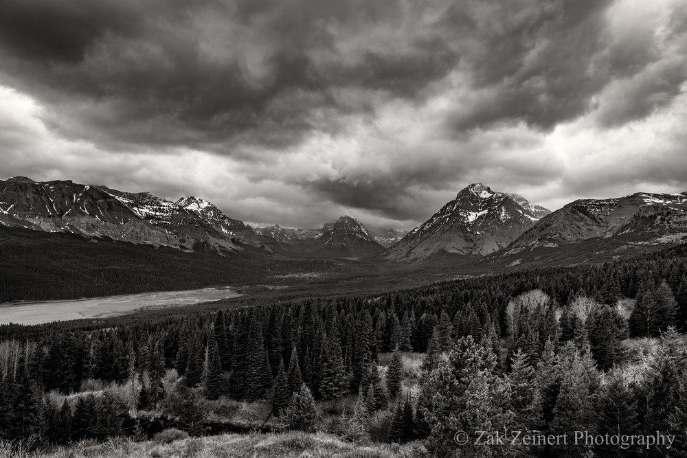 Montana - St. Mary BW 1.jpg