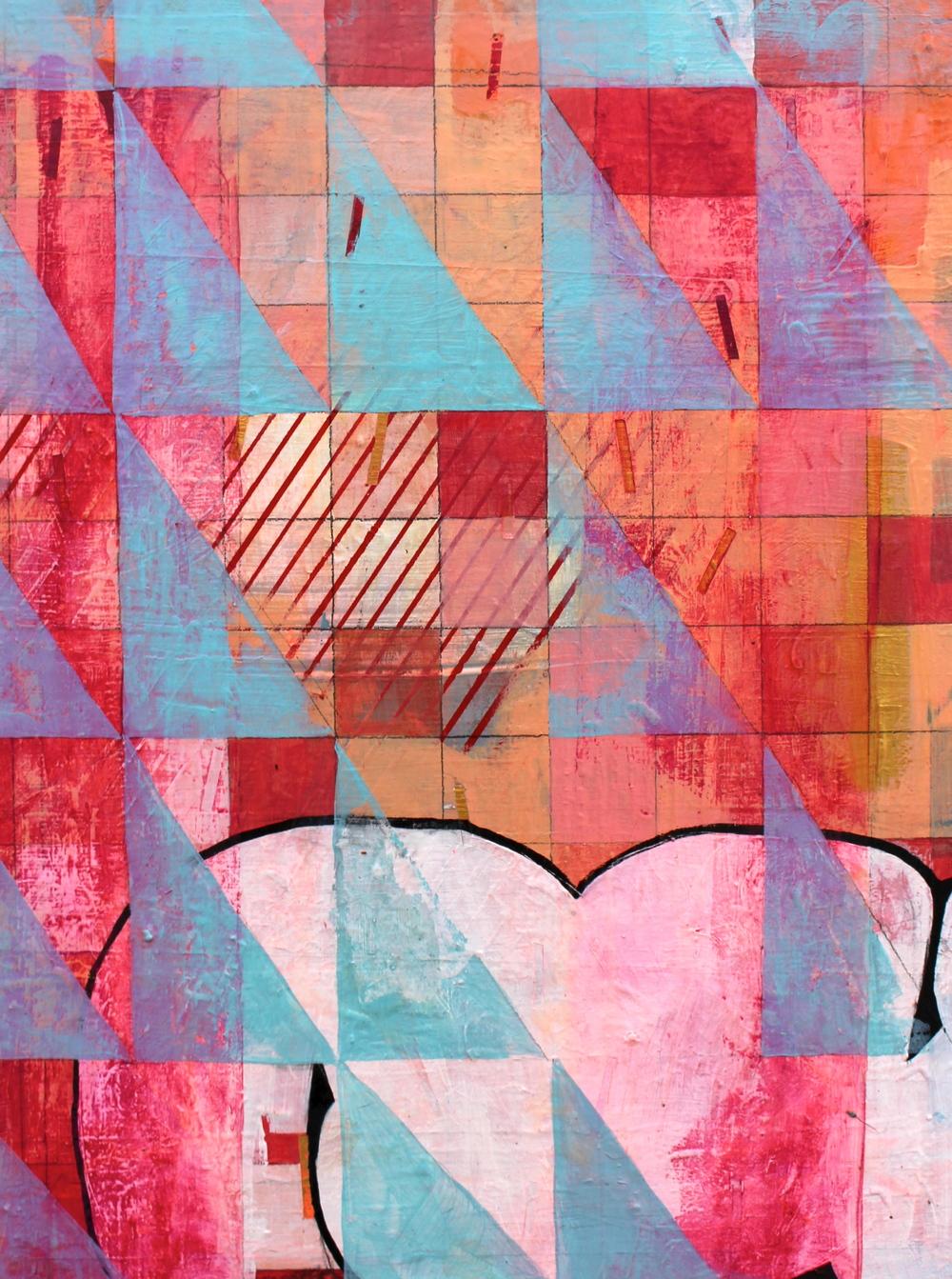 """14"""" x 18""""  Acrylic on panel  2016"""