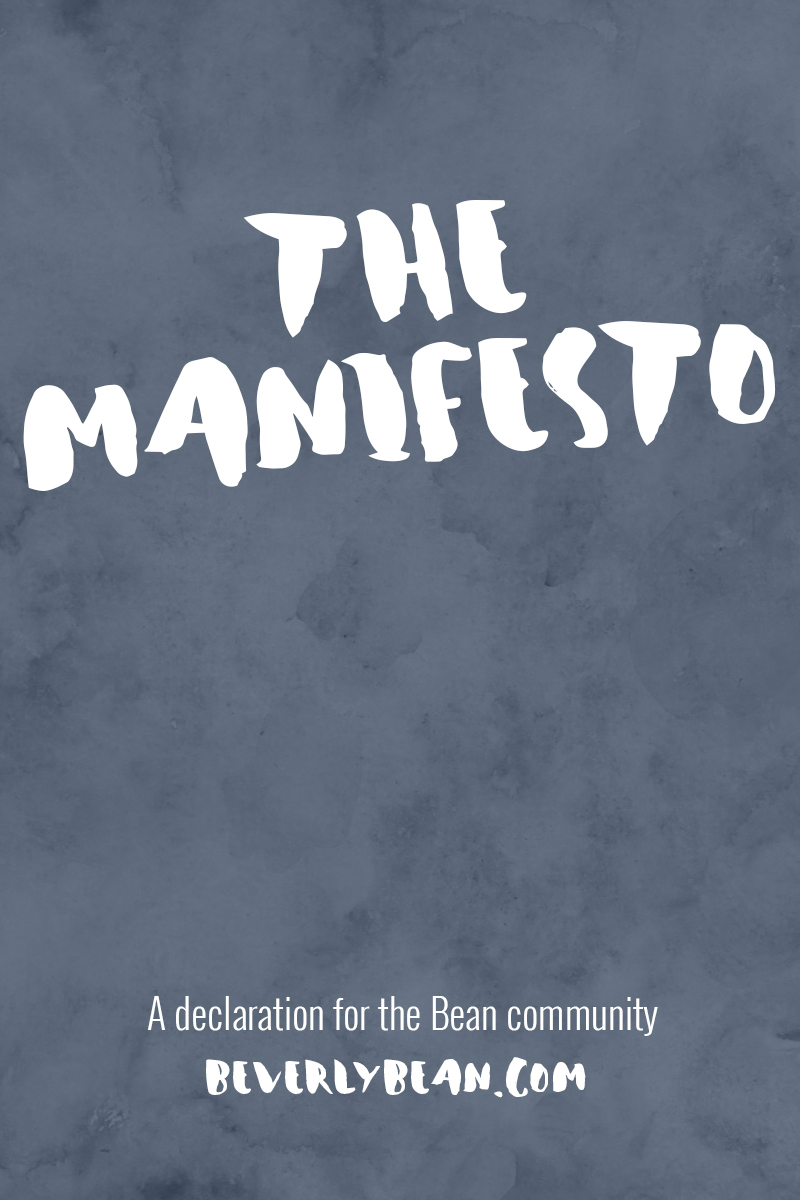 The Manifest | Beverly Bean