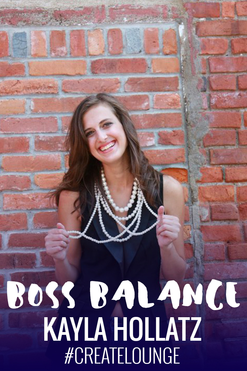 Boss Balance Q&A with Kayla Hollatz | Beverly Bean