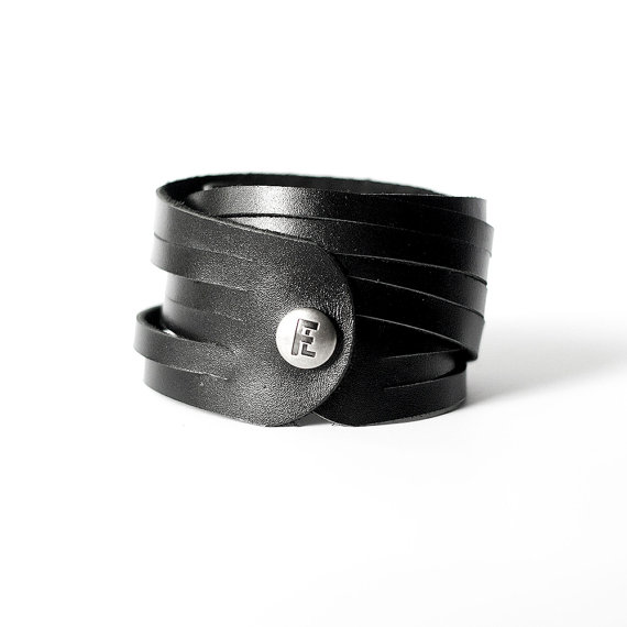 Flourish Leather Co. bracelet