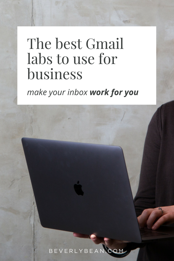 The best Gmail labs to enable for your inbox. These labs are going to make managing your email so much easier! Check it out now.