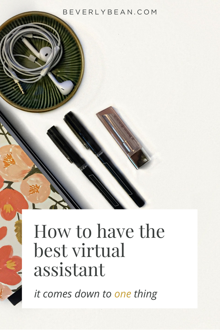 How to have the best virtual assistant really comes down to one thing that you need to consistently do. Find out how to have an amazing VA right now!