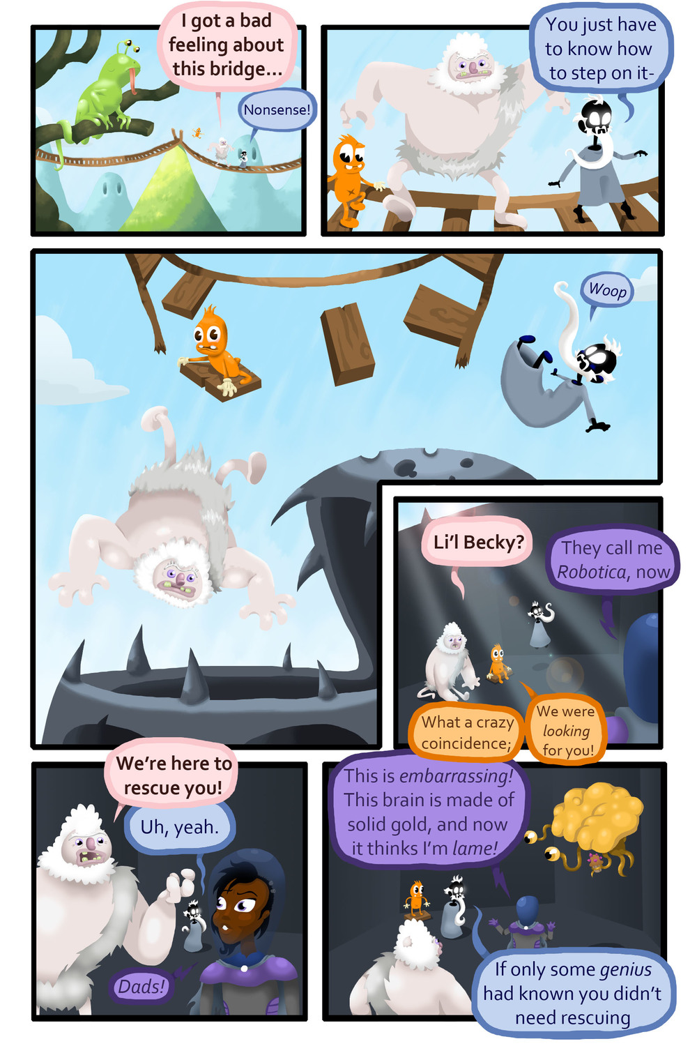Wizard & Giant Book 3 Page 15