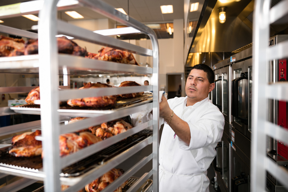 Edwin Rosales Kitchen Manager Previously, I was master of biscuits and fried chicken at the Front Porch in San  Francisco ... read more