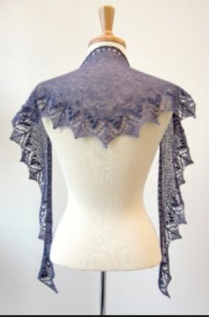Annis Shawl Pattern - Free on Knitty.com
