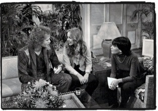 On the Set with Luke & Laura. of ABC-TV's General Hospital