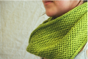 Antonia Shankland's  Honey Cowl