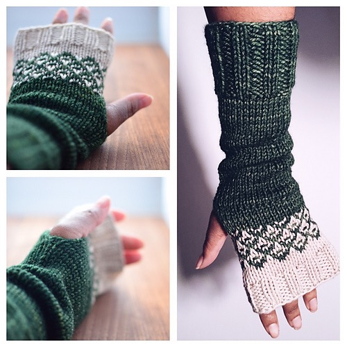 Crossing Borders Mitts