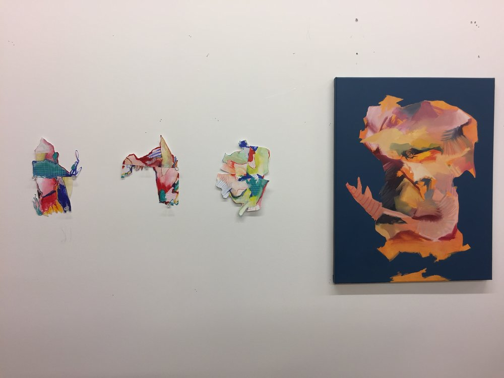 f studio wall collages and painting.JPG