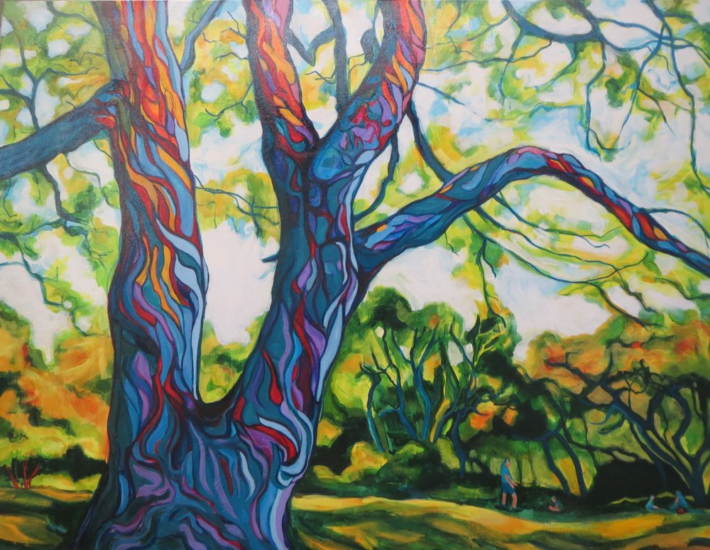 COOPER Sherry gallery 04 Monkeypod tree 30x40 acrylic on canvas.jpg