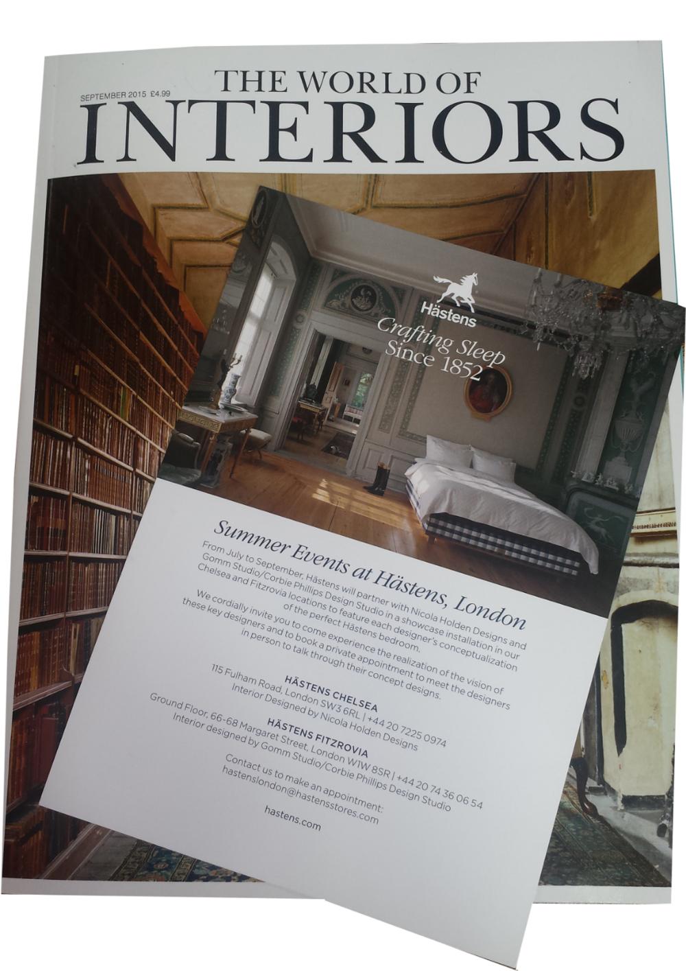 World of Interiors September 2015