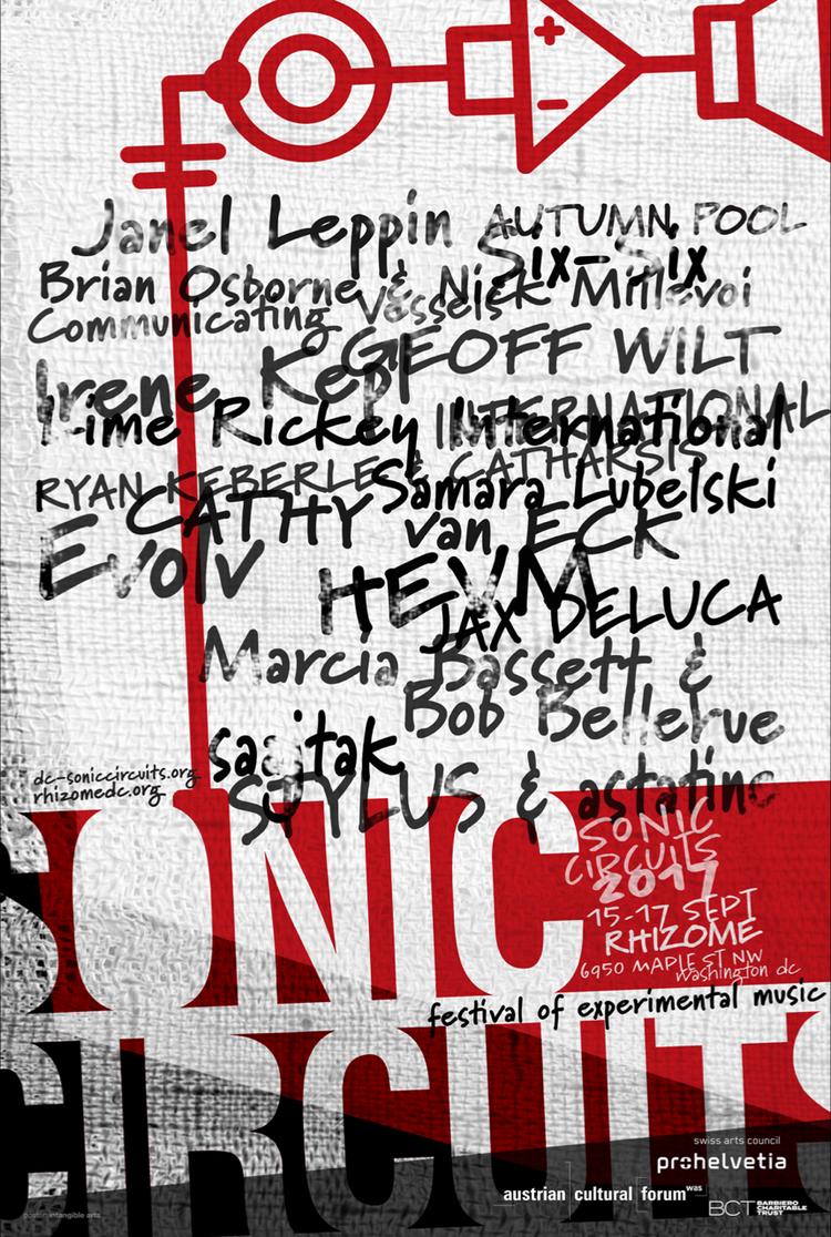 Sonic Circuits Festival of Experimental Music — Rhizome DC