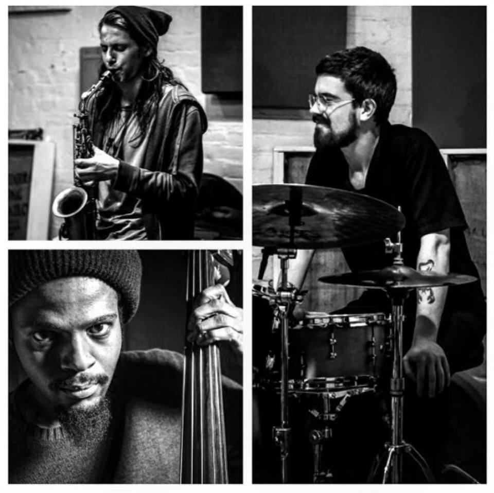 Sunday, April 29th. 8PM. $10.   Adams/Bucko/Cunningham Trio  (Midwest)  Improvised trio of Alexander Adams, Bob Bucko Jr., Alex Cunningham.    Hardhealth   (Kalamazoo, MI)  Improvised sampler duo from K-zoo    Heart of the Ghost   (DC/MD)  Formidable trio of Luke Stewart, Jarrett Gilgore, and Ian McColm