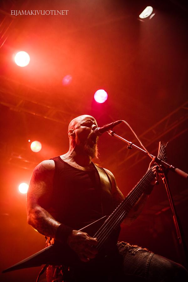 Wolfheart: Metalheim Festival, Nosturi, Finland, 2013. Photo: @ Eija Mäkivuoti.