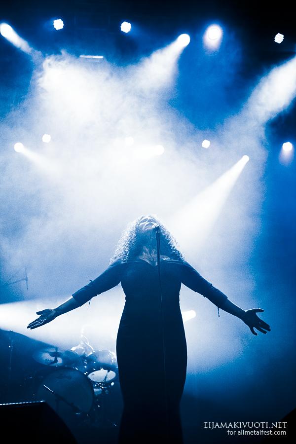 Devil's Blood: Jalometalli Festival 2012, Finland  .  Photo: @ Eija Mäkivuoti.