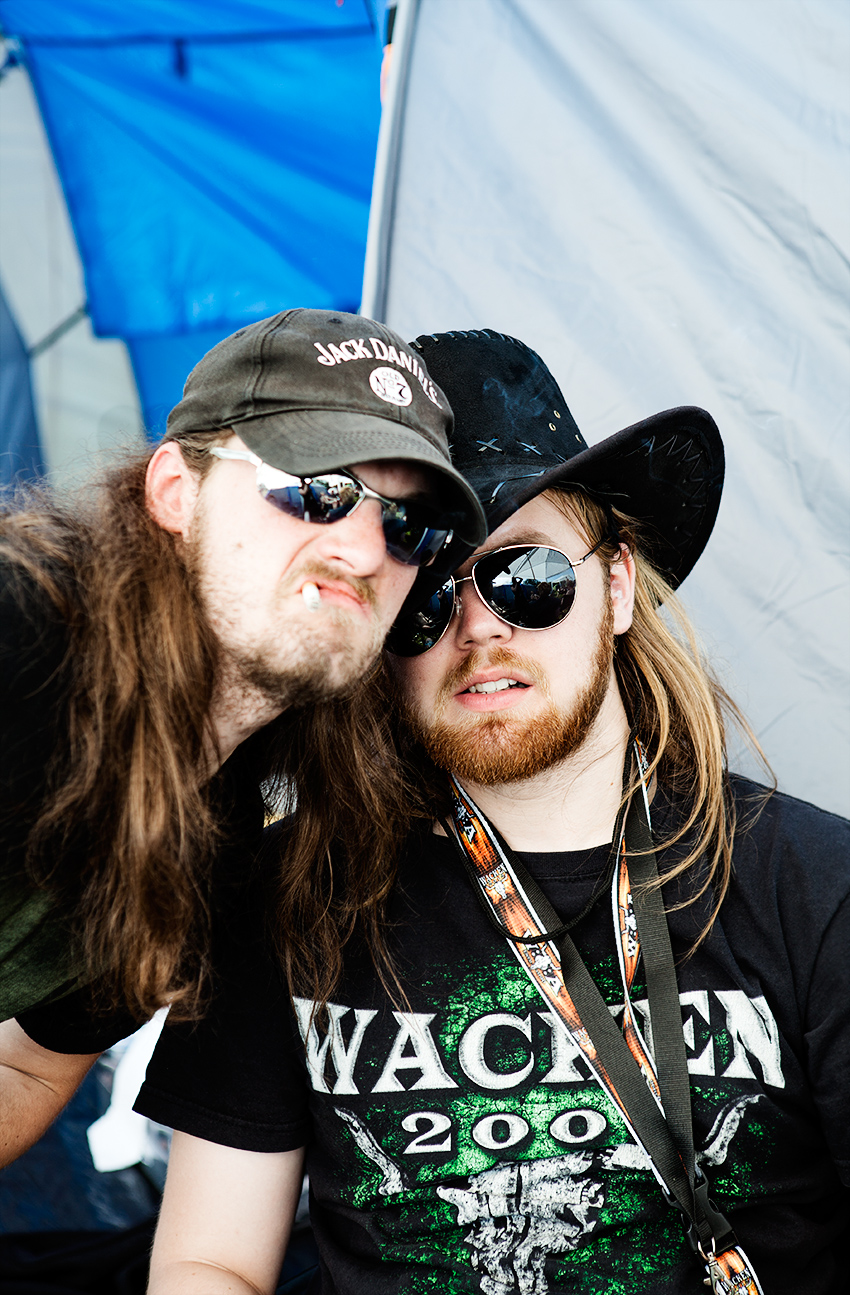 Wacken Metal Battle 2012:  Martin Rói & Theodor.  Photo: © Eija Mäkivuoti.