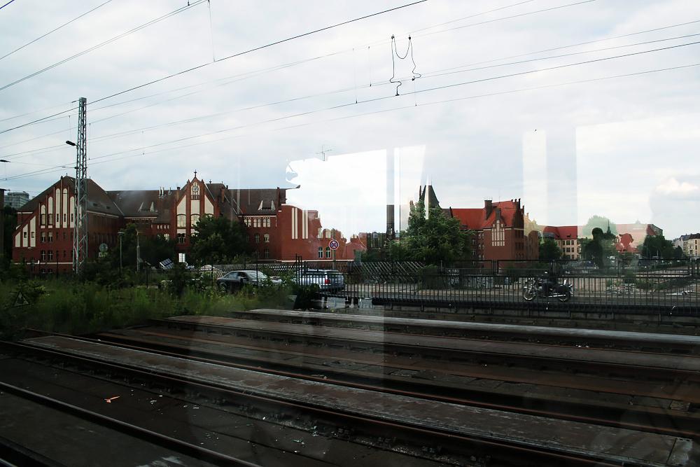 Eija Mäkivuoti: Berlin Round Tour 2007, Ringbahn Jaiku 02, Gesundbrunnen.