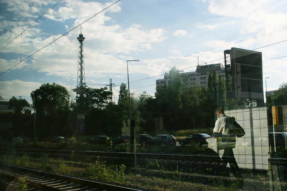 Eija Mäkivuoti: Berlin Round Tour 2007, Ringbahn Jaiku 01, Ostkreuz.