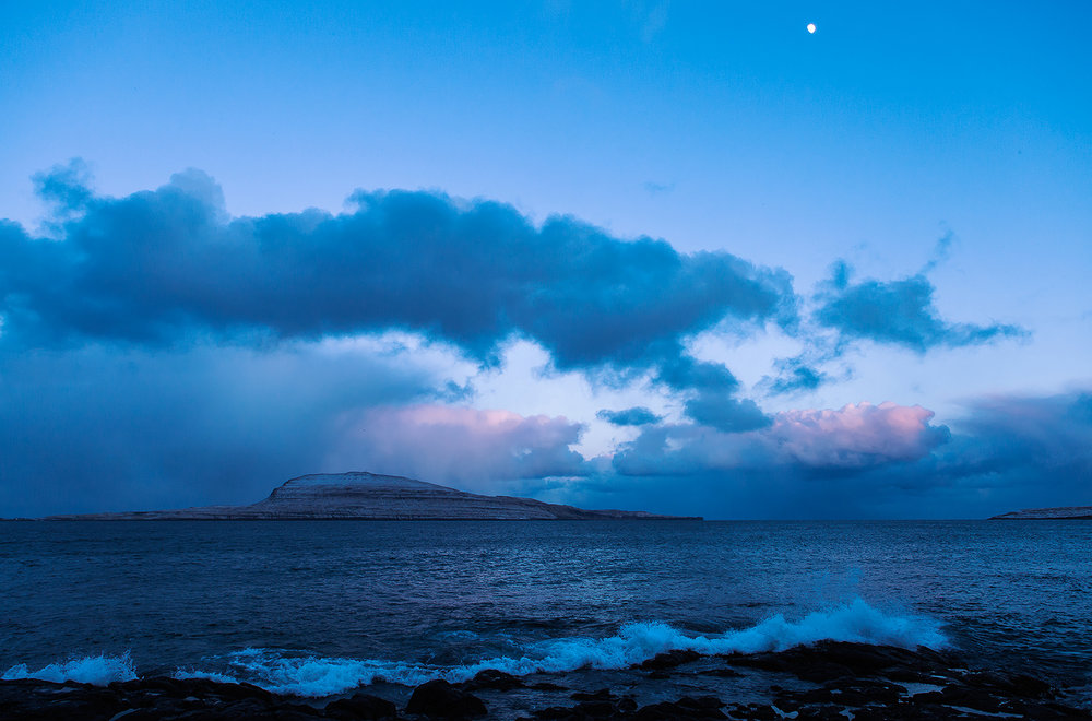 Nolsóy (The Blue Hour), Faroe Islands, 2013