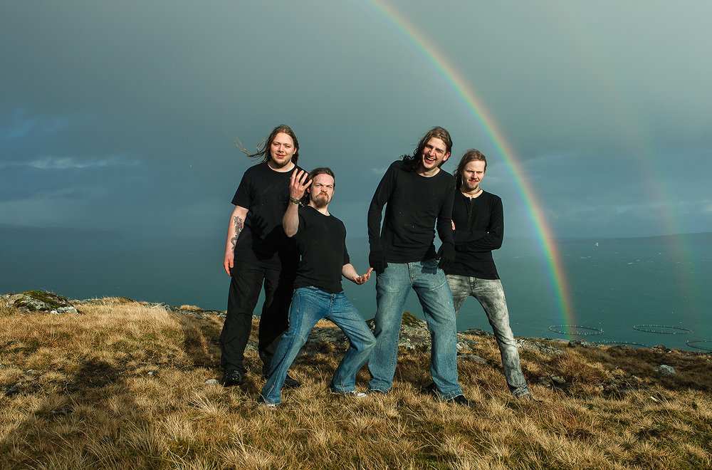 The Double Rainbow (Apocryphal Order), Faroe Islands, 2011