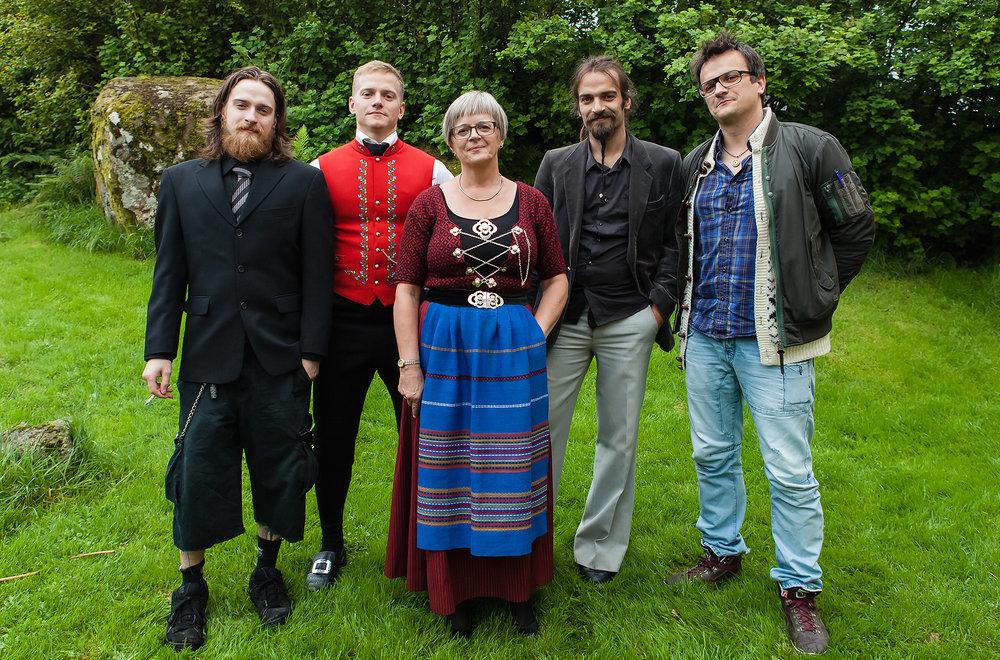 BIRGIT AND HER SONS #1, ÓLAVSØKA, TÓRSHAVN, 2013