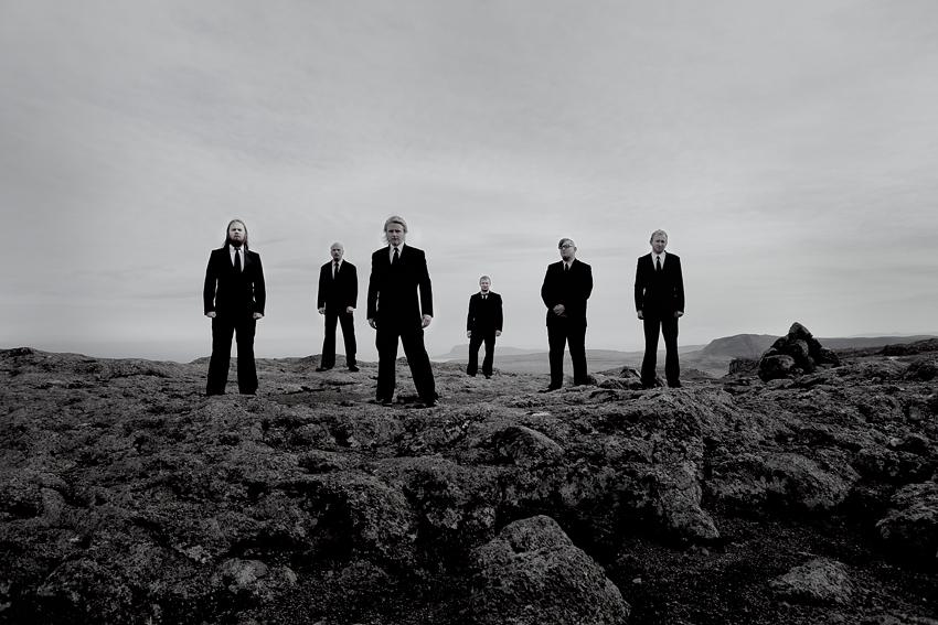 Hamferð: Promotional Photo, Shot in Mjørkadalur, Faroe Islands, 2012. Photo: © Eija Mäkivuoti.