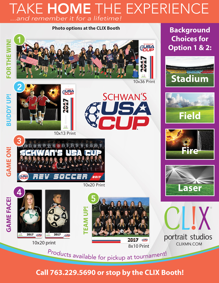 2017 USA CUP Order Form