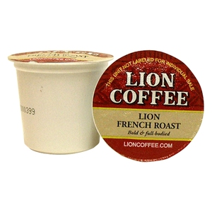 French Coffee Pod cups - Lion