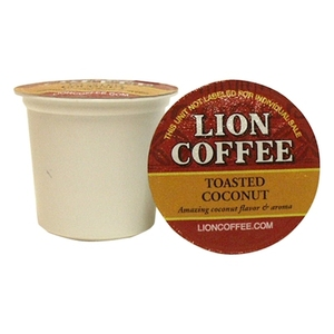 Lion Toasted Coconut Pod Cups Coffee