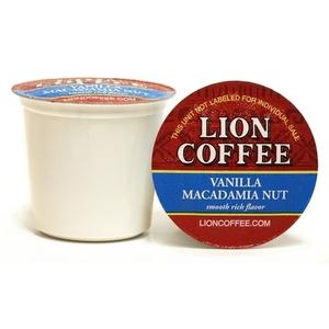 Vanilla Macadamia Nut Coffee Pod Cups - Lion