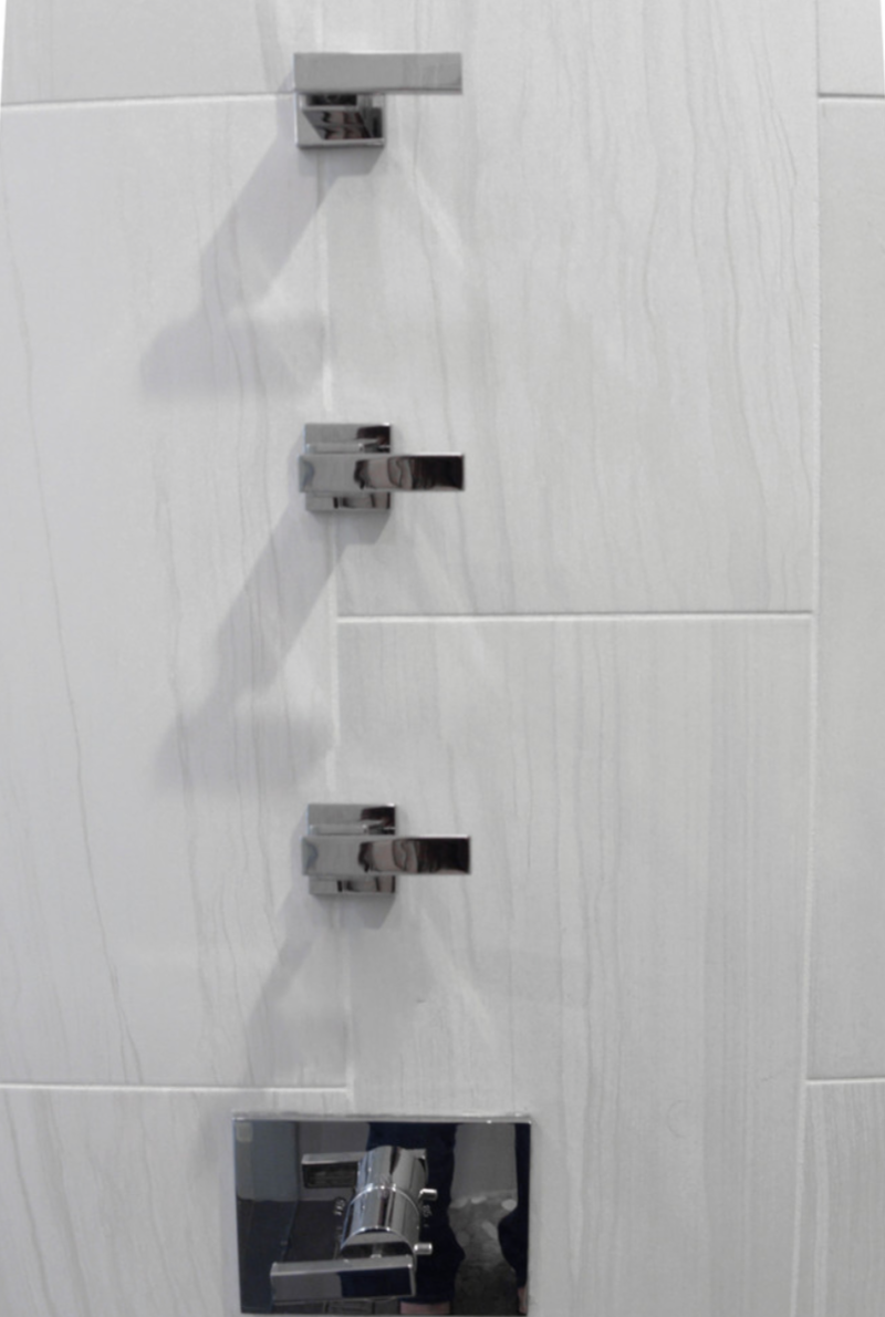 Bold Shower Hardware