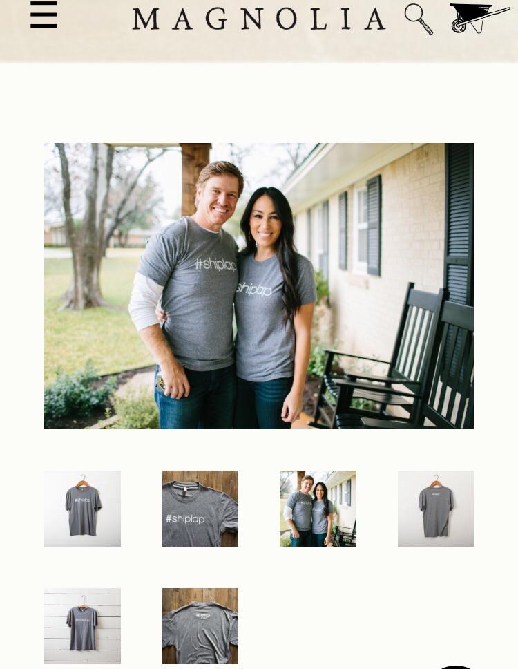 https://shop.magnoliamarket.com/products/shiplap-t-shirt Photo credit: shop.magnolia