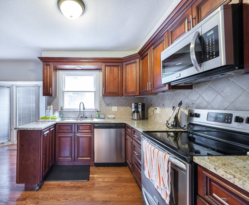 Before kitchen was not functional and did not fit the style of the homeowners.