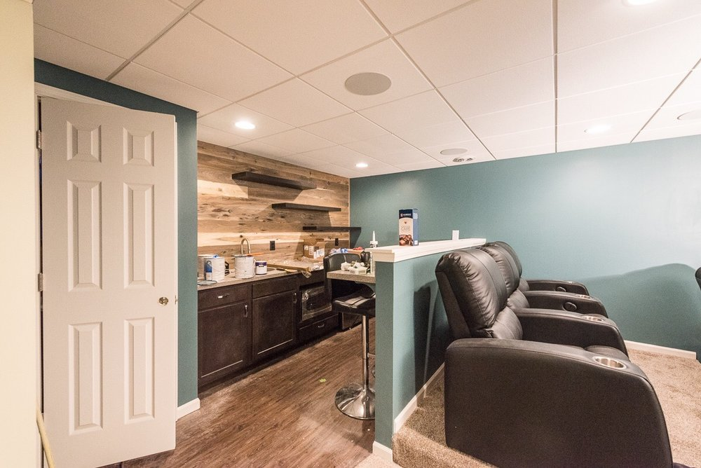 Awesome Basement Remodeling Kansas City