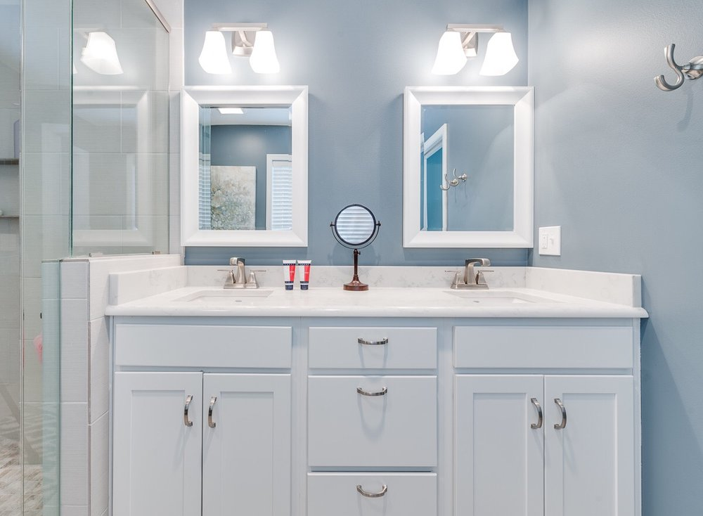 QA What Type Of Mirror Is Right For My Bathroom Remodel Home - Bathroom remodel process