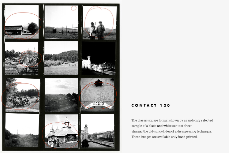contact sheet 120 Bernard Steffin – Sample Contact Sheet