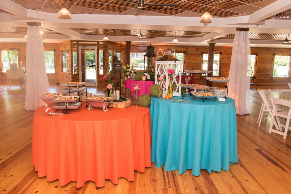 The Event Center at Legacy Farms made for the perfect venue location to display the pops of color needed to show off our tasty treats!