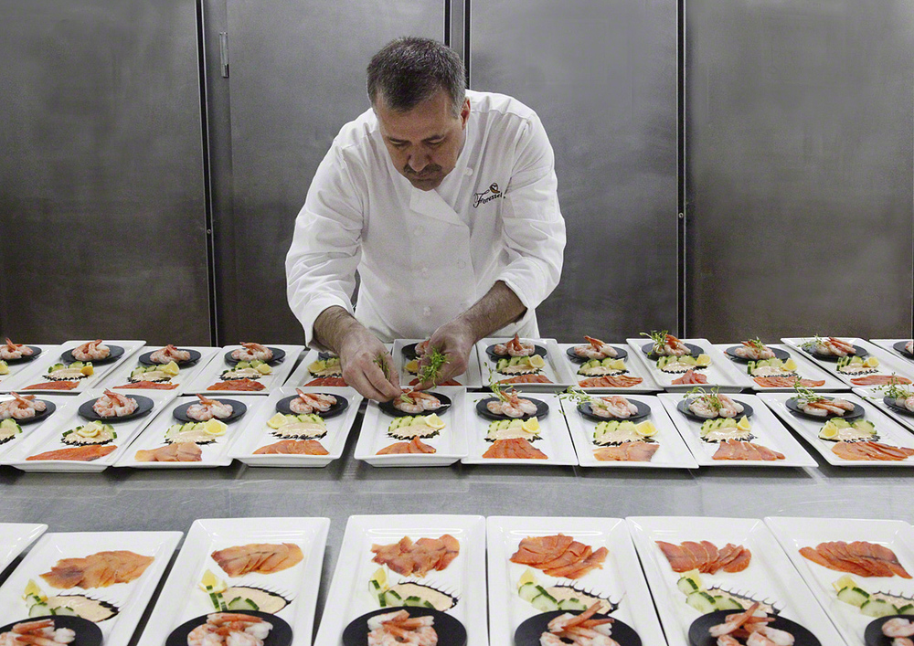 Chef Yves Moreau, Le Bistro