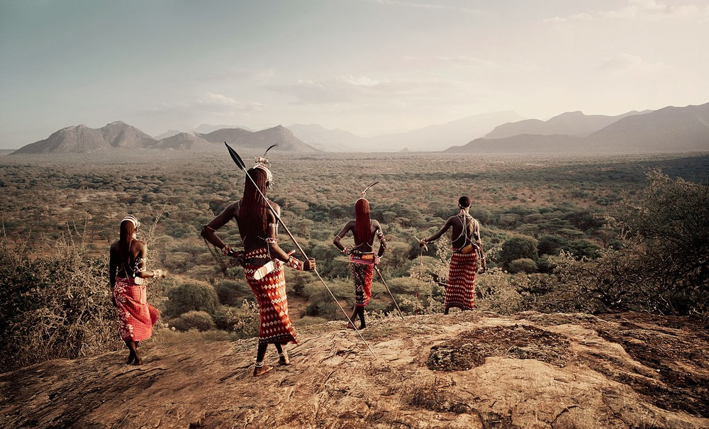 Members of the Samburu Tribe in Northern Kenya (Source: Jimmy Nelson,  Before They Pass Away )