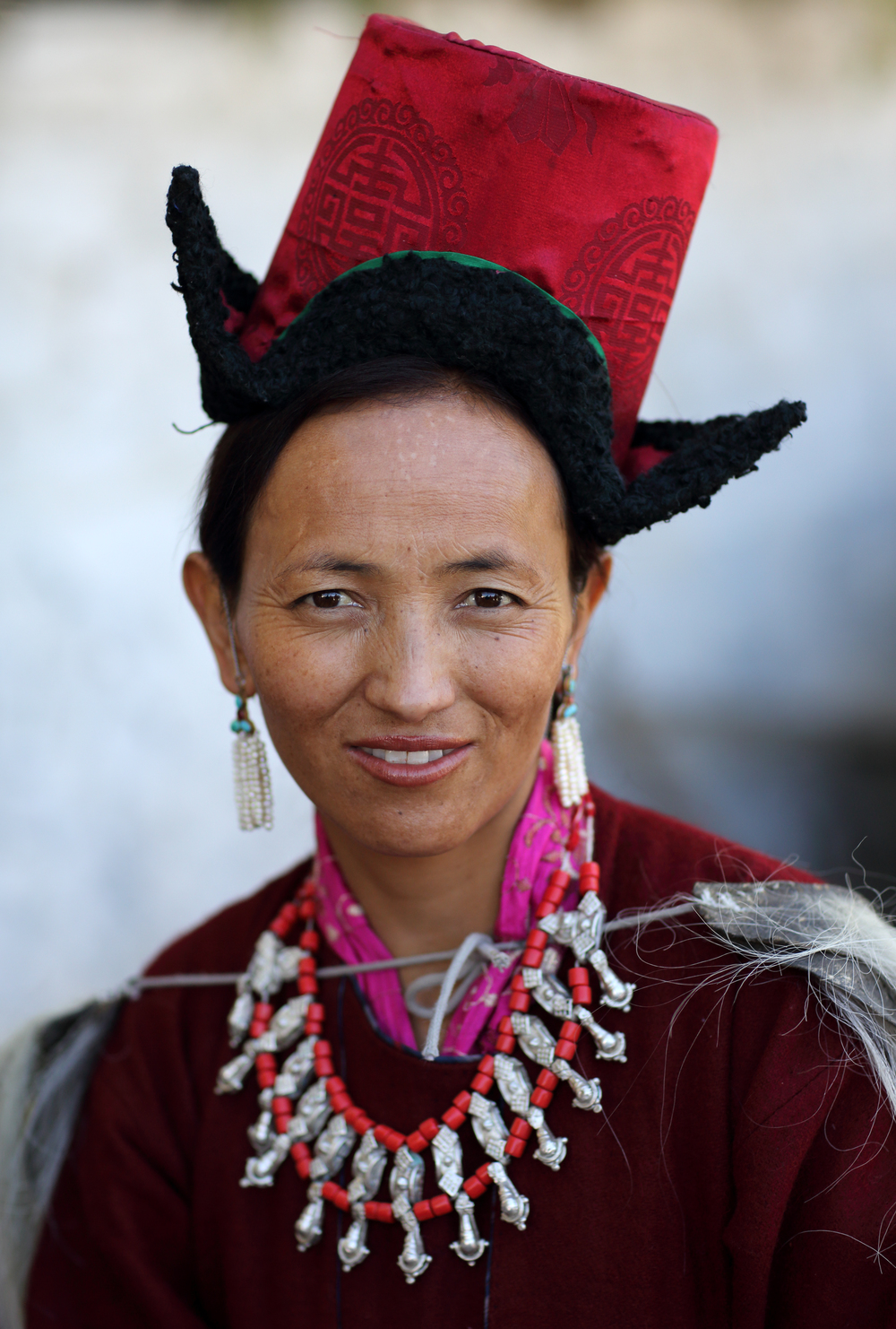 Traditional Dress, Ladakh, India (Source:  Dietmar Temps )